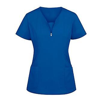 Dámske pevné tričko s krátkym rukávom Beauty Salon Nurse Uniform