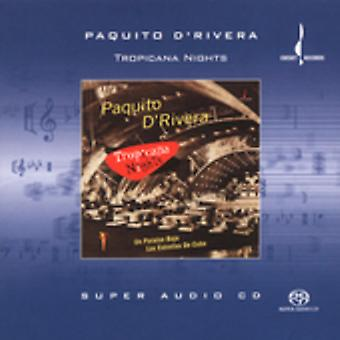 Paquito D'Rivera - Tropicana Nights [SACD] USA import