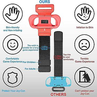 Game controllers wrist bands for just dance 2021 2020 2019 and zumba burn it up for nintendo switch controller game