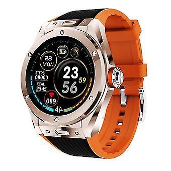 Mv58 smart ur bluetooth telefon ringer puls blodtryk kropstemperatur skærm skridt
