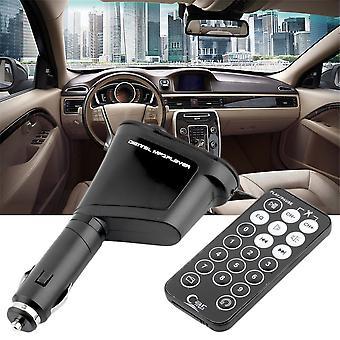 Car Mp3 Player Wireless Music Fm Nadajnik Modulator USB & Remote Control