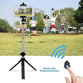 हैंडहेल्ड मिनी ट्राइपॉड 3 इन 1 सेल्फ पोर्ट्रेट मोबाइल फोन ब्लूटूथ सेल्फी स्टिक