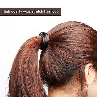 נשים ישר / צמה פאה אלסטי שיער הלהקה חבל סקרנצ'י קוקו מחזיק
