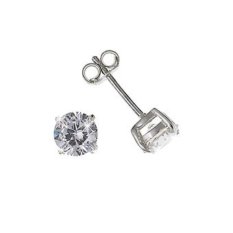 Eira Wen  Earring With Cubic Zirconia Set In Sterling Silver Jewellery For Women Ladies Anniversary Birthday Mothers Day Gifts For Her Mum Wife Girlfr