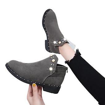 Martin Boots Bottines pour femmes Rivet Chaussures givrés pour femmes
