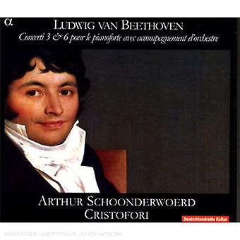 L.V. Beethoven - Beethoven: Piano Concertos Nos. 3 & 6 [CD] USA import