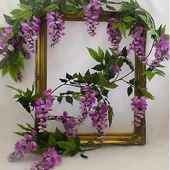 Artificial Silk Wisteria Garland