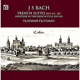 Bach / Feltsman, Vladimir - Bach: French Suites [CD] USA import