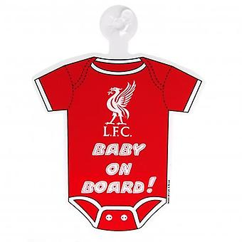 Liverpool Baby On Board Sign