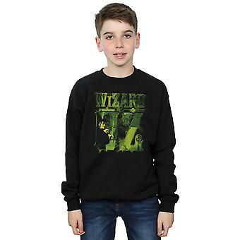 The Wizard Of Oz Boys Wicked Witch Logo Sweatshirt