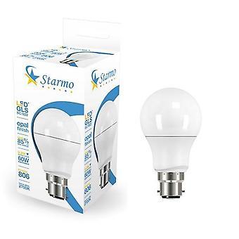 Starmo LED 5W 6W (50W/60W) BC B22 ES E27 GLS Lamp Light Bulbs Warm Cool White