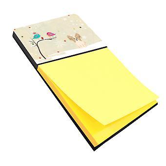 Рождественские подарки между друзьями Papillon Соболь белого записки держатель