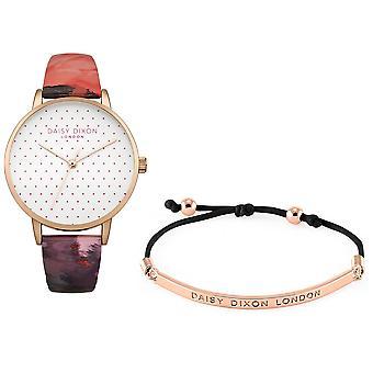 Daisy Dixon Suki Rose or plaqué Mesdames poignet Womens Watch Bracelet gratuit