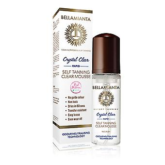Bellamianta Crystal Clear Rapid Self-Tanning Mousse