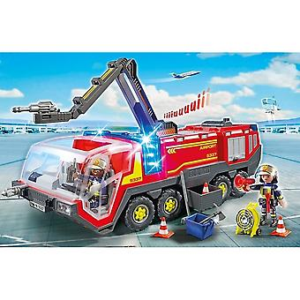 Playmobil 5337 City Action Airport Fire Engine con luci e suoni