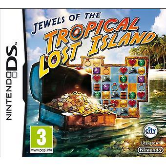 Jewels of the Tropical Lost Island (Nintendo DS) - Fabrik versiegelt