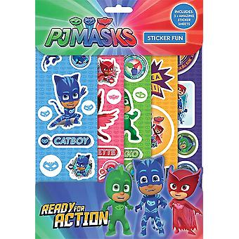 "PJ Masks Boys ""Ready for Action"" Sticker Fun"