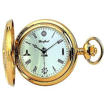 Woodford masońskie Zegarek kieszonkowy 1214