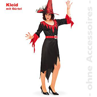 Witch witches dress ladies costume witch sorceress magician Halloween ladies costume