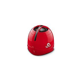 صوت GoGear قبة اللاسلكية المحمولة المتحدث GPS1500 أحمر
