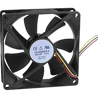FD129225LS-N (1A3K) axiálny ventilátor 12 V DC 64,74 m ³/h (L x š x H) 92 x 92 x 25 mm