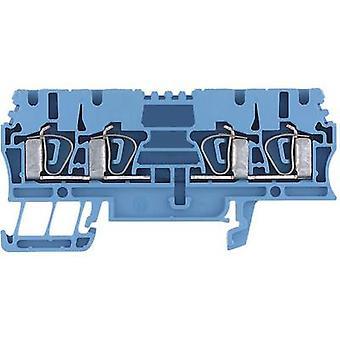 Weidmüller 1608580000-1 ZDU 2.5/4AN BL 0.5 - 4 mm² Azul