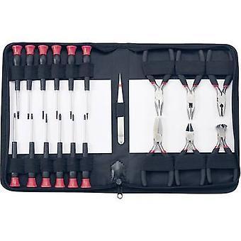 Basetech 814583 empreiteiros elétricos kit de ferramentas Bag 19 peças