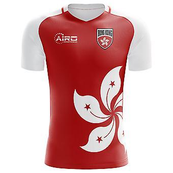 2018-2019 Hong Kong Home Concept Football Shirt - Adult Long Sleeve
