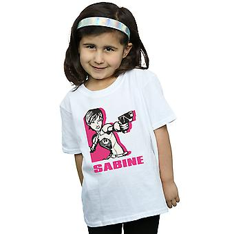Star Wars Girls kapinallisten Sabine t-paita