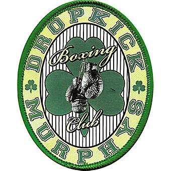 Dropkick Murphys Boxing Club Oval Iron-On / Sew-On Cloth Patch