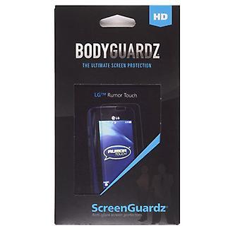5 pakkaus-BodyGuardz-ScreenGuardz + HD heijastamaton näytön suoja LG LN510 Rumor Touch