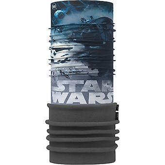 Buff New Polar Neck Warmer in Star Wars Tie Defensor Flint Stone/Grey