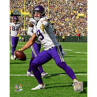 Adam Thielen 2018 Action Photo Print