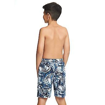 Zoggs ジュニア男子レイダース 6-15 歳の子供水泳パンツ ブラック/ブルー