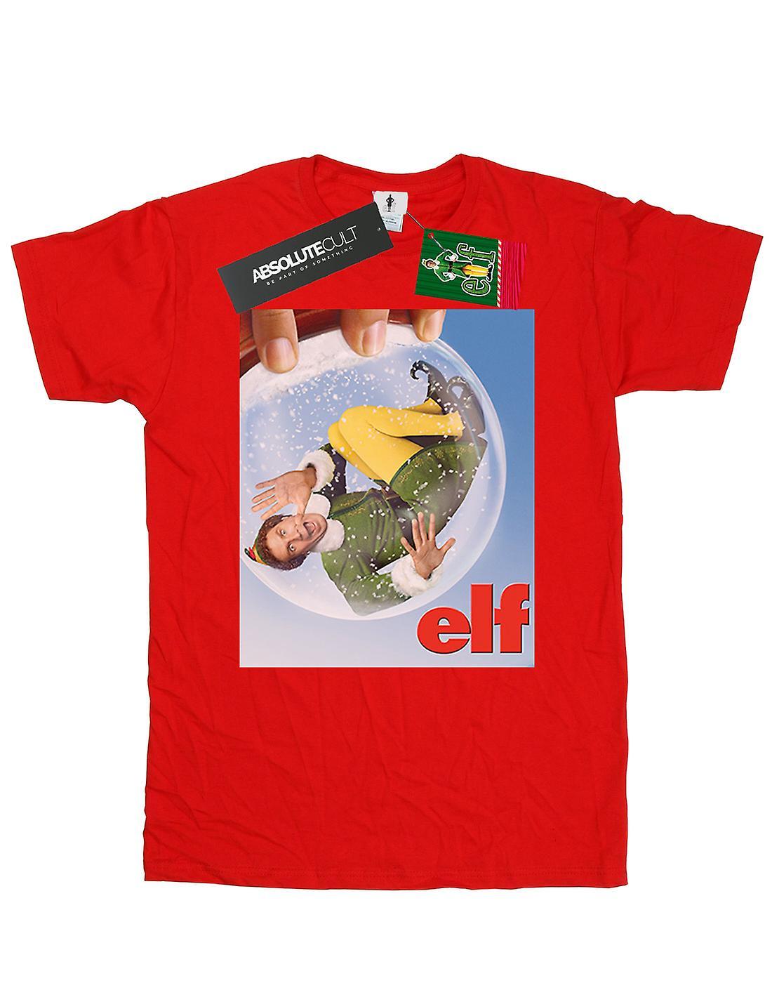 Elf Girls Snow Globe Poster T-Shirt
