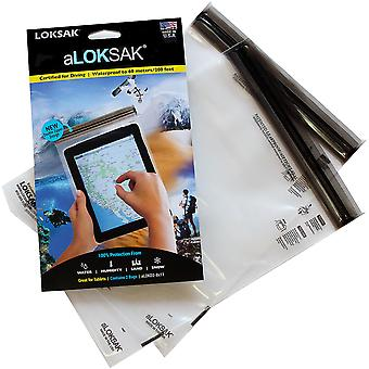 "Loksak aLoksak Resealable Waterproof Storage Bags (2 Pack) - 8"" x 11"""