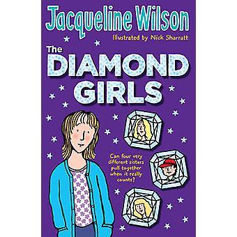 Les filles de diamant par Jacqueline Wilson - Nick Sharratt - 978055255612