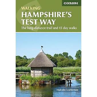 Wandelen Hampshire Test manier - de interlokale trail en 15-daagse wandeling