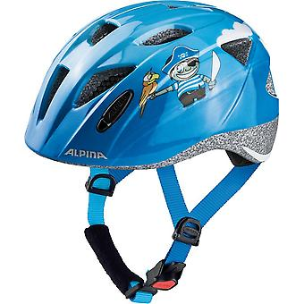Alpina Ximo child bicycle helmet / / blue pirate