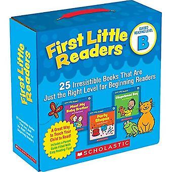 Eerste kleine lezers: Begeleide lezen niveau B: 25 onweerstaanbare boeken die precies de juiste niveau voor beginnende lezers