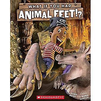 Si vous aviez des pieds animaux?