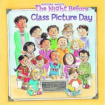 Kvällen innan klass bild dag