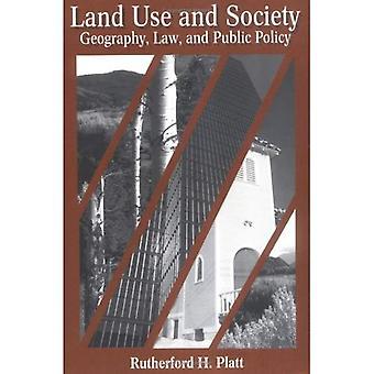 Uso del territorio e della società geografia, diritto e politica pubblica