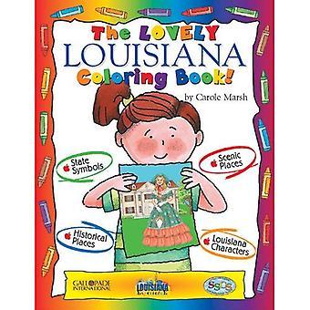 Le livre de coloriage de Louisiane belle!