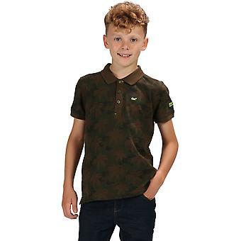 Régate garçons & filles Tobin chemise Polo manches courtes en coton