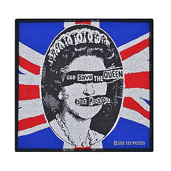 Sex Pistols God Save The Queen kudottu Patch