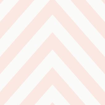 Chevron Zickzack Wallpaper geometrische moderne gestreifte Fett 5 Farben verfügbar