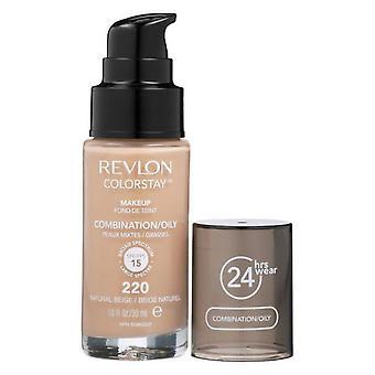 Revlon Colorstay Makeup Combination/Oily Skin - 220 Natural Beige 30ml