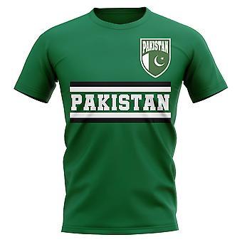 باكستان الأساسية لكرة القدم البلد تي شيرت (الأخضر)