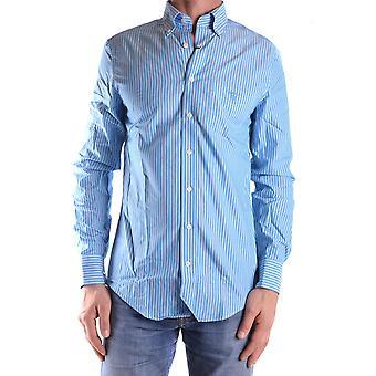 Gant Ezbc144013 Men's Light Blue Cotton Shirt